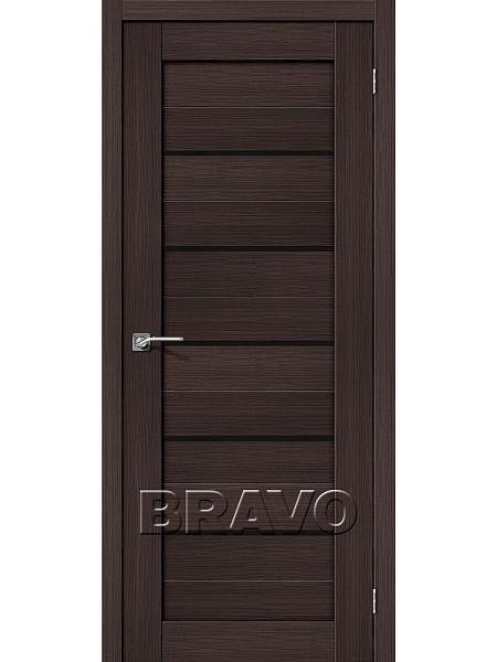 Порта-22 ПО Венге Вералинга (Черное стекло)