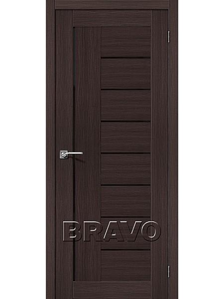 Порта-29 ПО Венге Вералинга (Черное стекло)