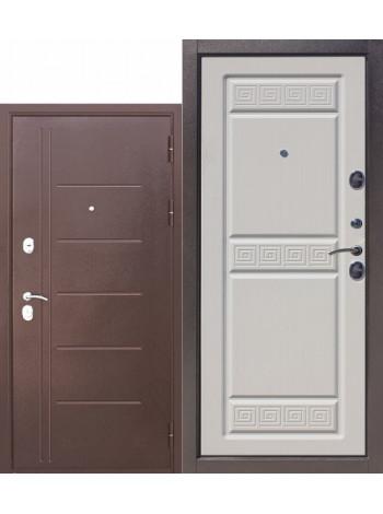 Дверь 10 Троя Антик Белый Ясень