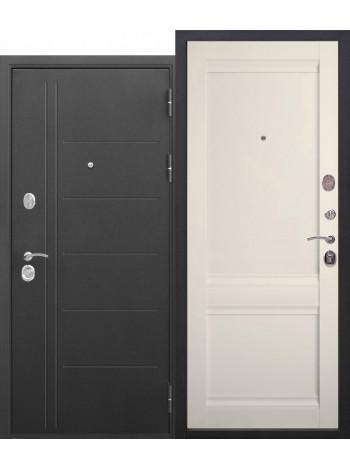 Дверь 10 Троя Муар Царга Эшвайт