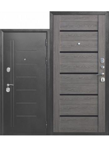 Дверь 10 Троя Серебро Дымчатый Дуб