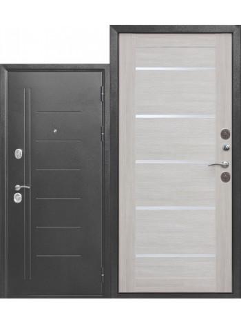 Дверь 10 Троя Серебро Лиственница Беж