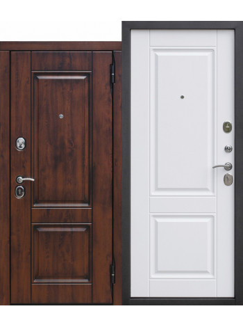Дверь 9,5 Вена Белый Матовый