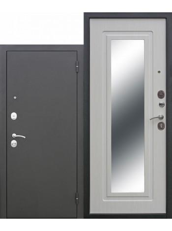Дверь Царское Зеркало Белый Ясень
