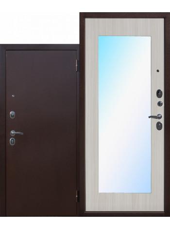 Дверь Царское Зеркало Макси Белый Ясень