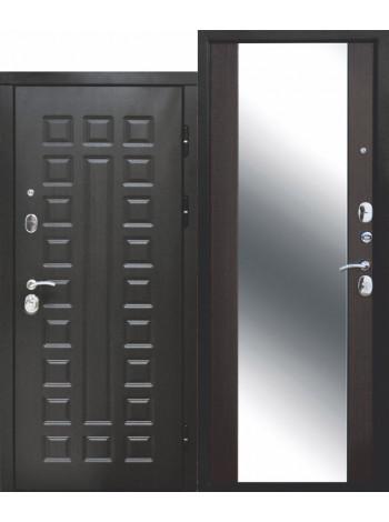 Дверь 10 Монарх Зеркало Венге