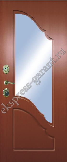 металлические лестничные двери эконом класса
